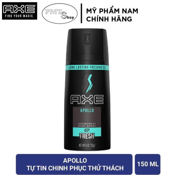 Xịt nước hoa toàn thân AXE Apollo 150ml hương Tươi mát - khử mùi nam