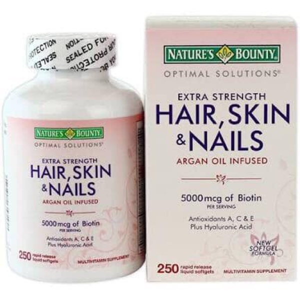 Bổ sung vitamin skin nail and hair