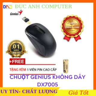 Mouse không dạy hiệu Genius NX7005 -bền siêu tốt mẫu mã đẹp - hàng chính hãng Petrolimex Phân Phối Bảo Hành 12 Tháng sản phẩm tốt chất lượng cao cam kết hàng giống mô tả thumbnail