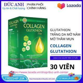 Viên uống Collagen Glutathion Plus giúp da khỏe đẹp căng bóng chống lão hóa hộp 30 viên HSD 2023 - đức anh center thumbnail