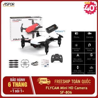 [ Tặng 3 pin AAA ] Máy bay drone flycam mini điều khiển từ xa 4k,flycam,máy bay camera mini siêu nhỏ giá rẻ model SF 806 thời gian bay lâu kết nối wifi quay phim chụp ảnh phiên bản nâng cấp của mavic 2pro,phatom 4 pro,xiaomi,sjrc f11(nhiều màu ) thumbnail