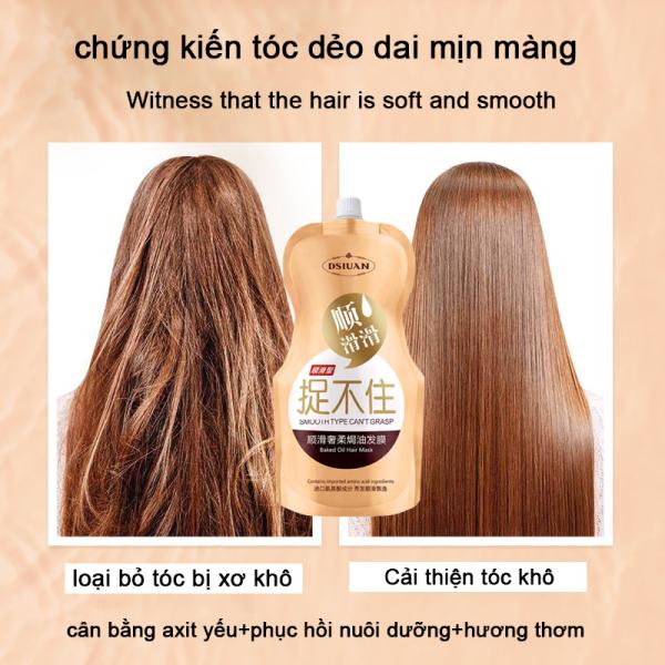 Ủ tóc Collagen Kem ủ hấp dầu bóng tóc phục hồi hư tổn  500g giá rẻ