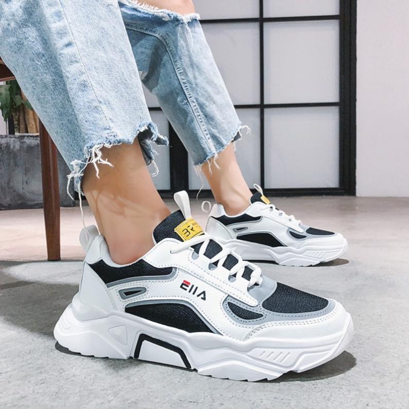 (VIDEO THẬT) Giày thể thao sneaker nam - ELLAAA phản quang có 2 màu siêu chất - BHNT Shop giá rẻ