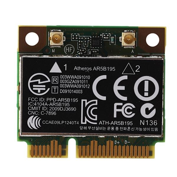 Bảng giá AR9285 AR5B195 150M+BT3.0 Half Mini PCI-E Wireless Card SPS:593127-001 592775-001 for 430 431 435 436 4530S Phong Vũ