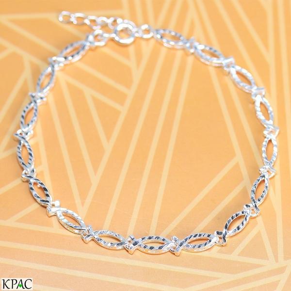 Lắc tay bạc 92.5% KPAC: Bow tie (lu0918801)
