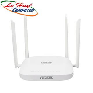 Router Wifi Băng Tần Kép AC1300 APTEK A134GHU MU-MIMO - Hàng Chính Hãng thumbnail