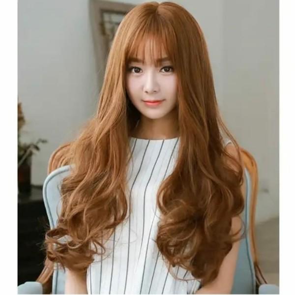 Thuốc nhuộm tóc màu Nâu Vàng Sáng (kèm oxi và bao tay)
