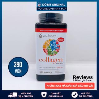 Viên Uống Collagen 390 Viên Biotin Youtheory Ngăn Ngừa, Đẩy Lùi Các Dấu Hiệu Lão Hóa Giúp Tóc Và Móng Chắc Khỏe thumbnail