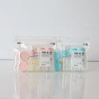Bộ chiết mỹ phẩm ,Bộ Chiết Mỹ Phẩm Mini Lameila Chính Hãng Nội Địa Trung, set 5 hộp mini chiết mỹ phẩm thumbnail