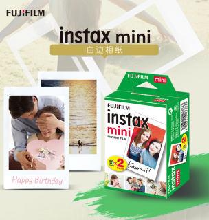 Phim Mini FUJIFILM Trắng 10 Hoặc 20 Tờ Dành Cho Fuji Instax Mini 8 9 70 7S 50S 25 Giấy Phim Ảnh Máy Ảnh Tức Thì