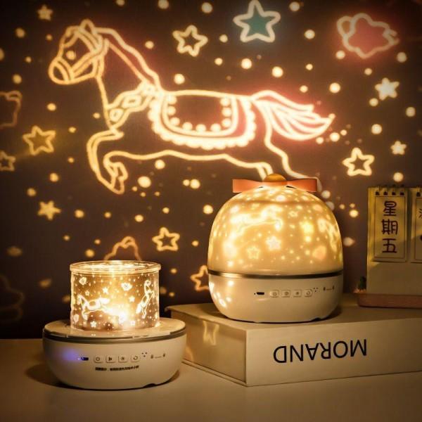 Bảng giá Đèn ngủ chiếu sao, Decor trang trí, cổ tích, sinh nhật, đại dương, xoay tự động LED lãng mạn