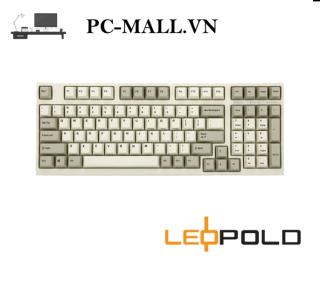 Bàn phím cơ Leopold FC980M PD White Grey - PC-MALL.VN thumbnail