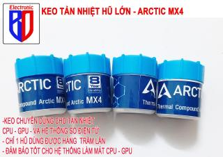 Keo tản nhiệt HŨ LỚN làm mát CPU Arctic MX4 tản nhiệt CPU, card VGA thumbnail