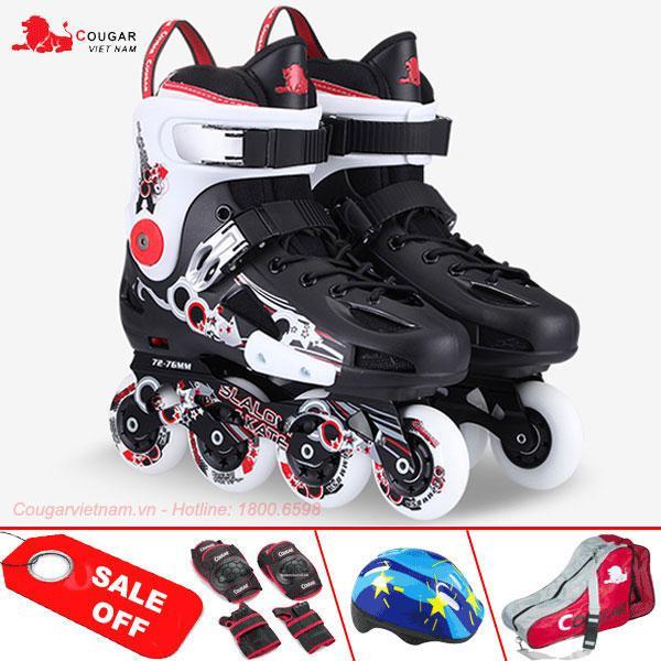 Giá bán Giày trượt patin chính hãng Cougar cao cấp CR317