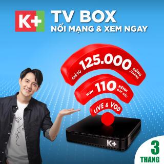 Trọn bộ thiết bị và 3 tháng thuê bao TV BOX