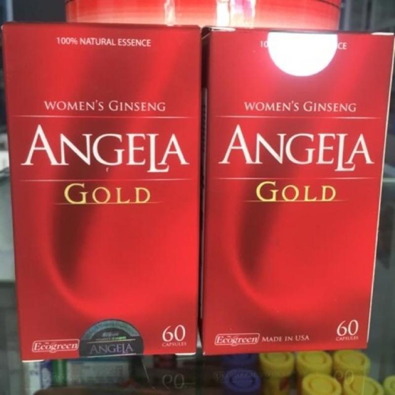 Sâm Angela Gold Chai 60 viên