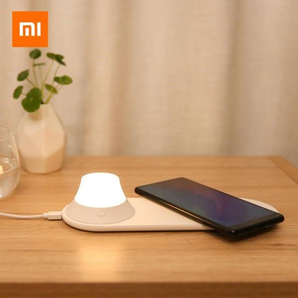Xiaomi Yeelight Wireless Charging LED Night Light Support Wireless Charging for Mobile Phone