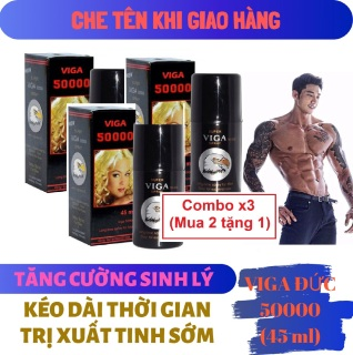 Combo x3 (Mua 2 tặng 1) Chai xịt VIGA 50000 (45ml) thumbnail