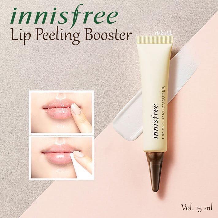 Tẩy Tế Bào Chết Môi Innisfree Lip Peeling Booster nhập khẩu