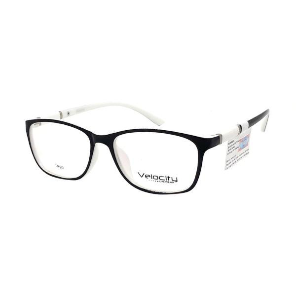 Giá bán KÍNH GỌNG UNISEX HIỆU VELOCITY VL36461 809 ĐEN TRẮNG