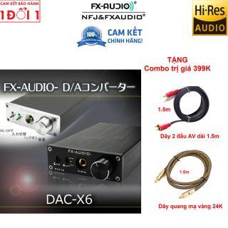 Tặng ngay 399k - Bộ giải mã âm thanh DAC-X6-FXaudio hàng chuẩn + tặng cáp Optical + cáp USB+ jack AV - Bộ giải mã âm thanh chất lượng cao DAC FX-AUDIO X6 new 2018 - Hàng công ty phân phối - Bảo hành 12 tháng thumbnail