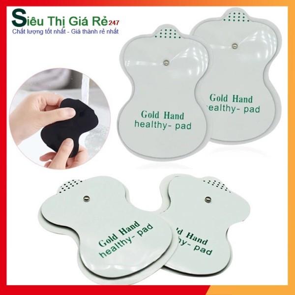 Bộ 4 miếng dán massage xung điện rẻ, bền dành cho máy massage vật lý trị liệu ( miếng dán mát xa )