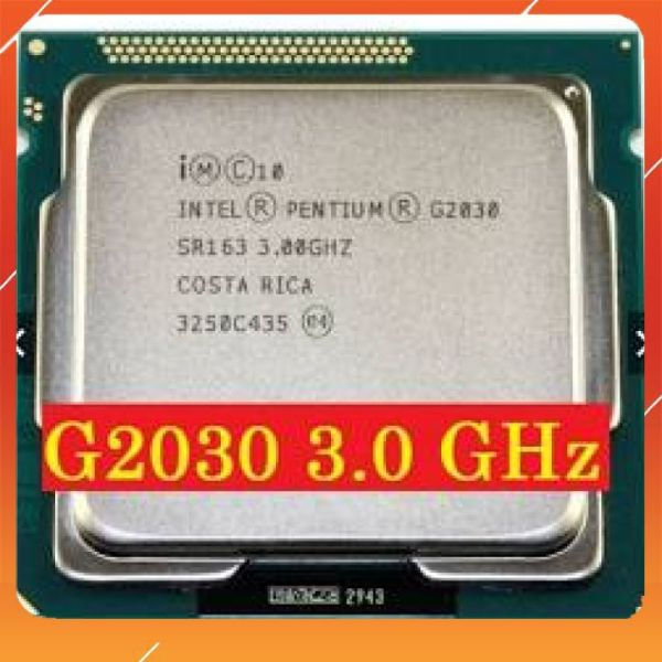 Bảng giá cpu g2030 dùng cho H61,B75 Phong Vũ