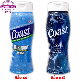 SỮA TẮM GỘI 2 IN 1 COAST HAIR & BODY WASH 532ML USA thumbnail