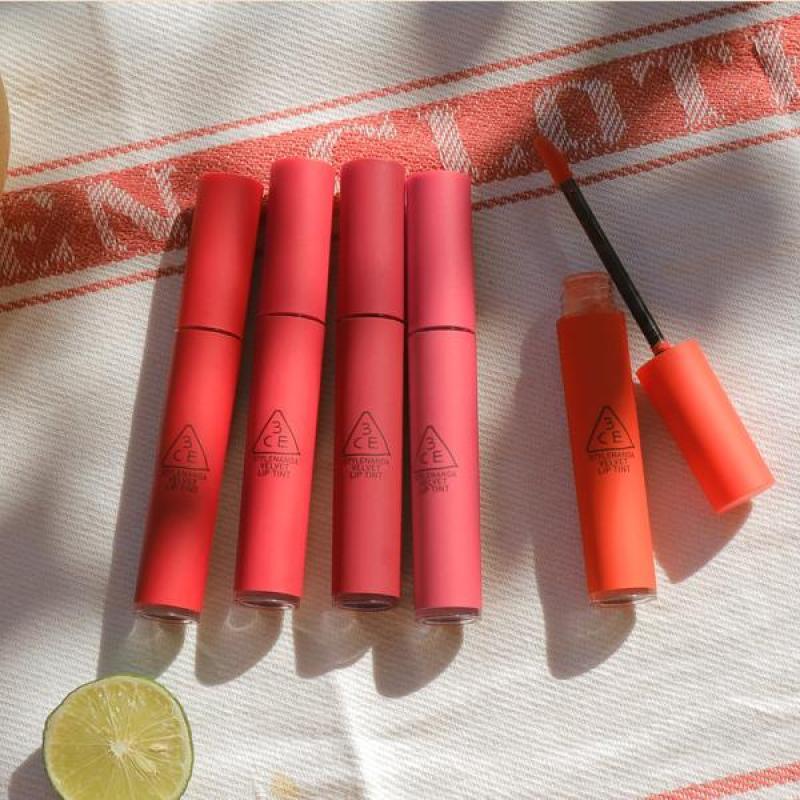 Son kem lì 3 CE Velvet Lip Tint #Pink Break , son thỏi cao cấp