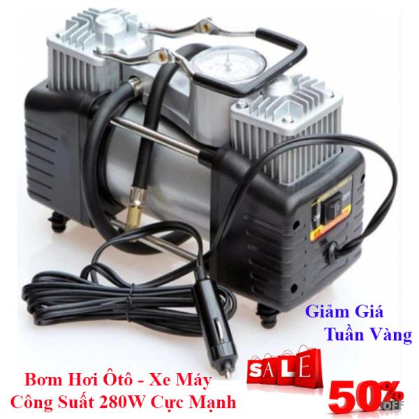 Bình nén khí mini - Máy bơm hơi 220V mini áp suất cao. Bơm hơi Ôtô, xe máy, xe đạp mã lực lớn, Công Suất Đạt 120W, Dễ Dàng Sử Dụng. Bảo Hành 12 THÁNG 1 ĐỔI 1. Giảm Giá Còn 50%