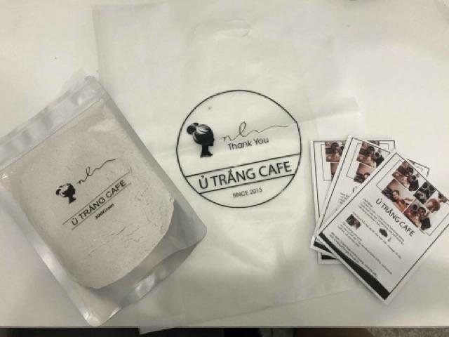 ủ trắng cafe từ thiên nhiên (dùng face & body) + Tặng mặt nạ giấy mask chính hãng