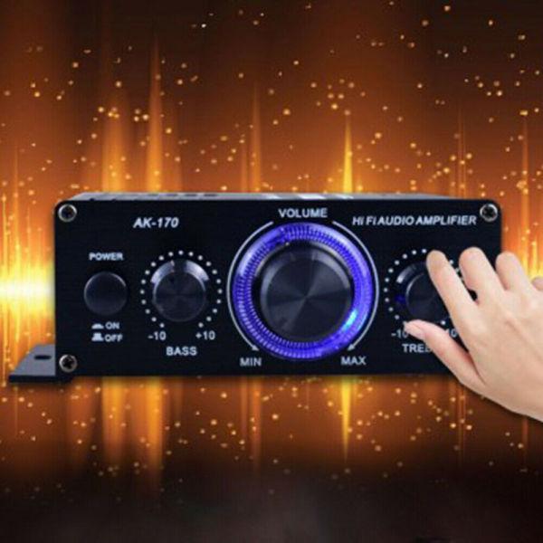 Bộ khuếch đại âm thanh 12v cỡ nhỏ Bluetooth 20hz-20khz