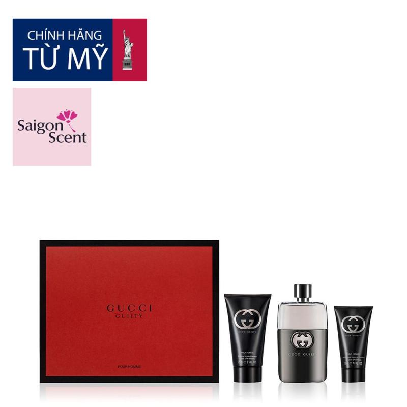 Gift set Gucci Guilty for him (EDT) cao cấp