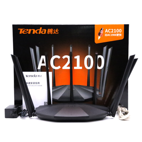 Bảng giá Bộ Phát Wifi Tenda AC23 Ăng Ten 6dbi Phát Wifi Chuẩn AC2100 Model 2020 Mạng Thông Minh Phong Vũ