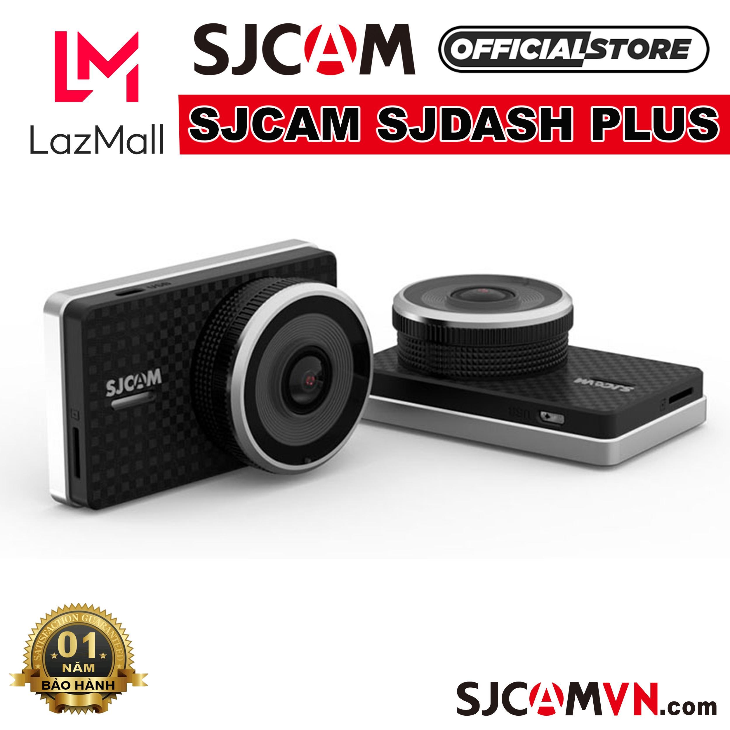 Camera Hành Trình Xe Hơi SJCAM SJDASH + 4K WiFi - Hãng Phân Phối Chính Thức Đang Có Khuyến Mãi