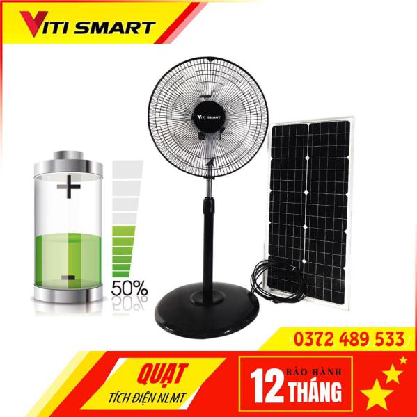 Quạt năng lượng mặt trời F500 - quạt tích điện năng lượng mặt trời F500