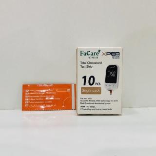 Que thử Mỡ máu (Cholesterol) dành cho Máy đo đa năng Facare 5 trong 1 FC-M168 (TD-4216) thumbnail