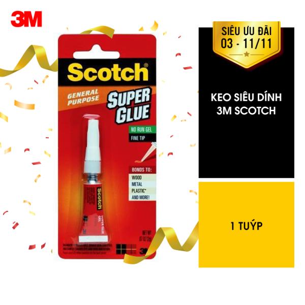 Mua [VOUCHER 30K-20K-15K-8K] Keo dán đa năng siêu dính Scotch 3M AD113