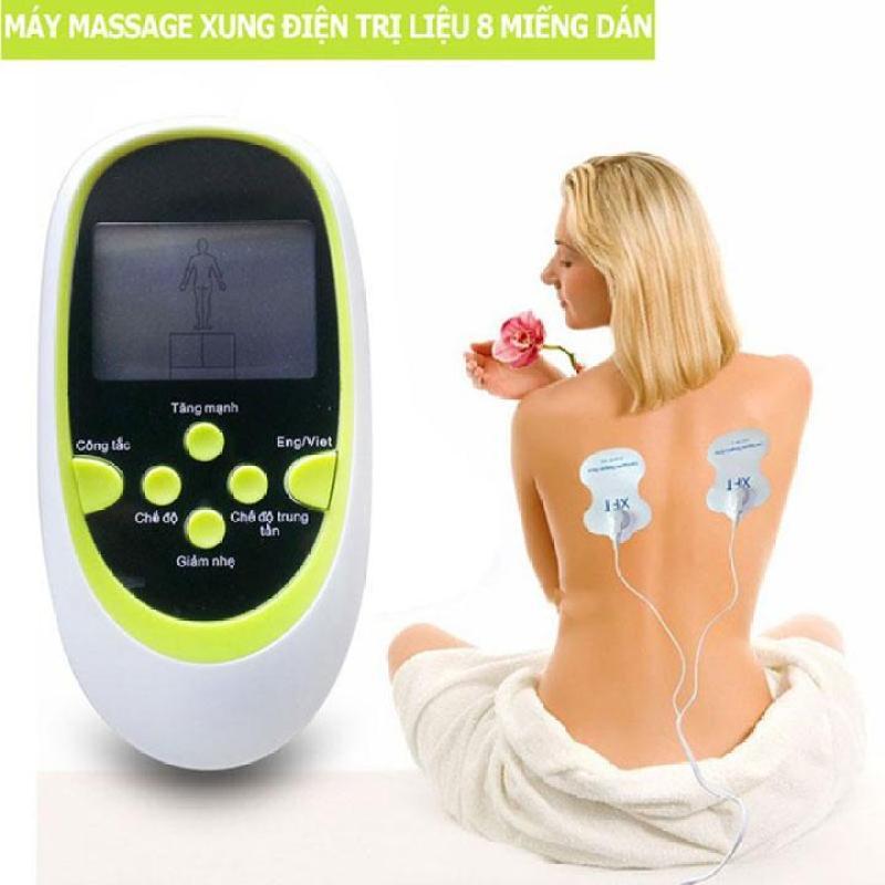 Máy Massage Trị Liệu Xung Điện 8 Miếng Dán - PK182