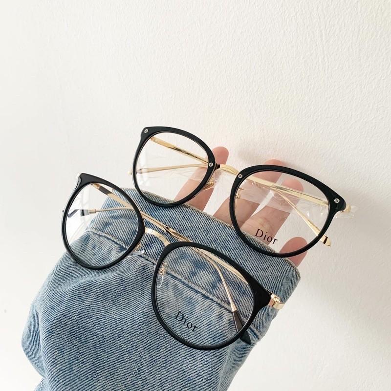 Giá bán Gọng kính trứng mắt mèo tròn thời trang cho nam nữ - 6020