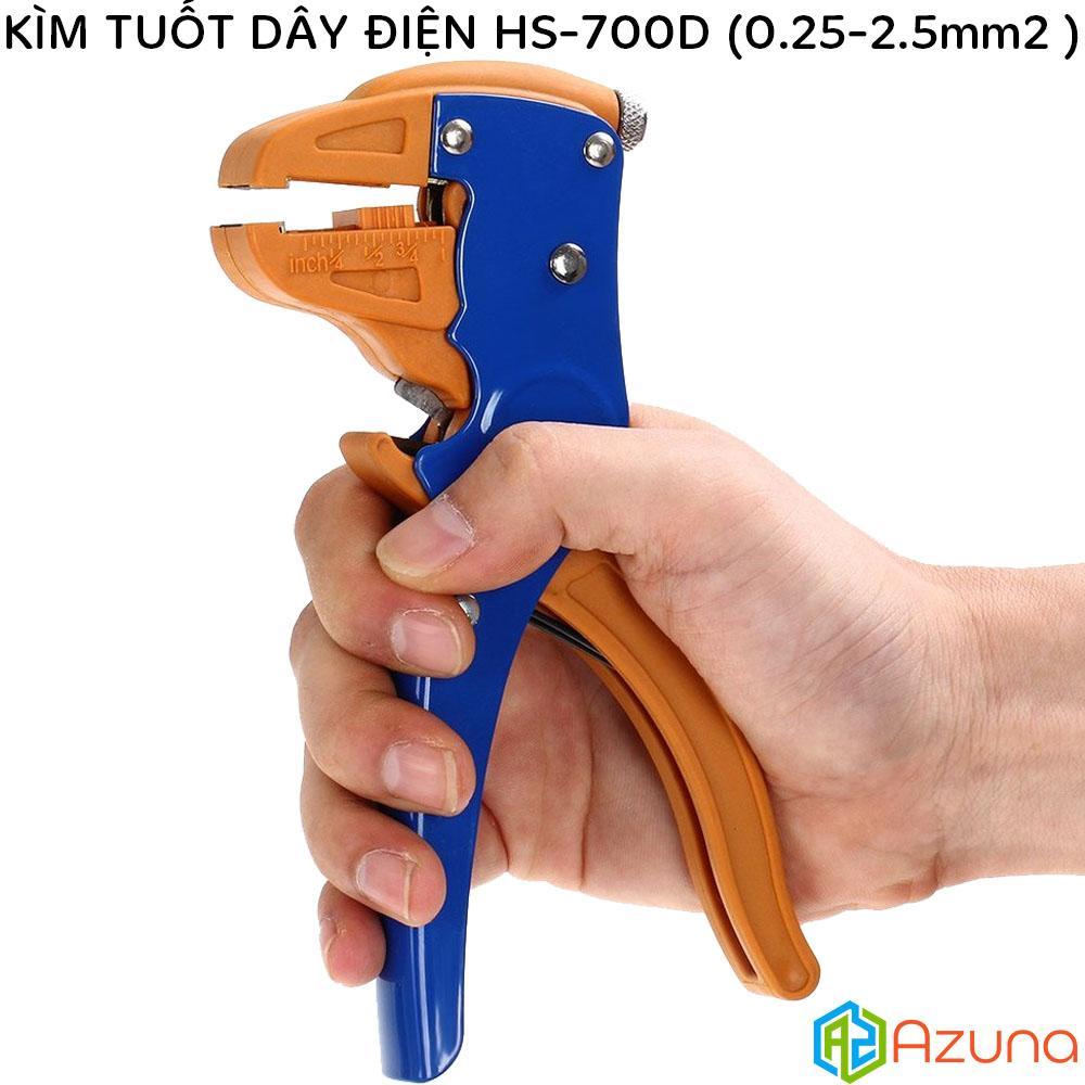 Kềm tuốt dây điện HS-700D (0.25-2.5mm2) (Kìm tuốt dây)