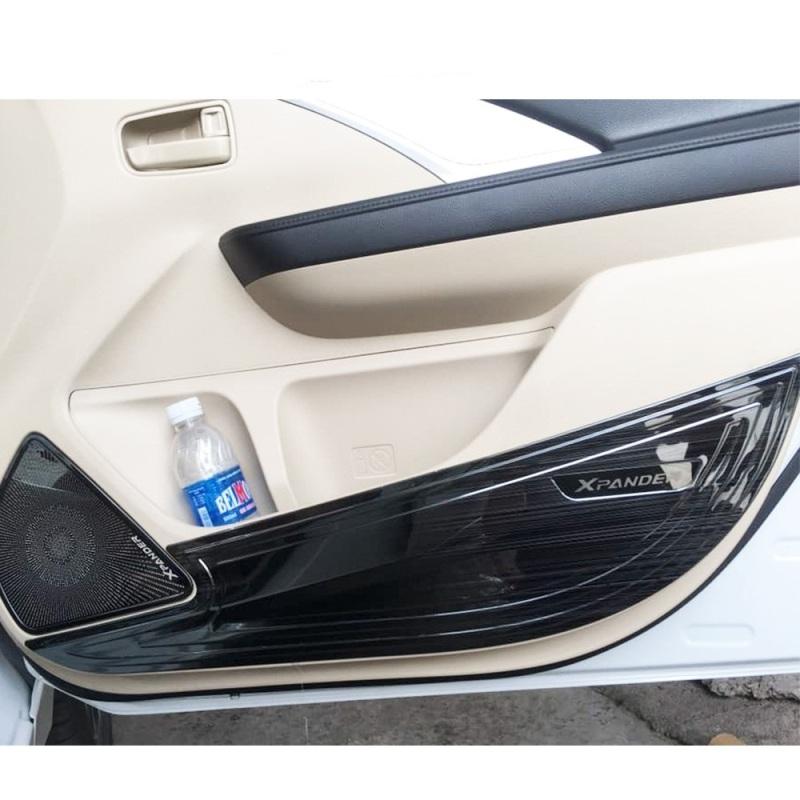 Ốp nội thất tapli chống xước cánh cửa Xpander 2018-2020