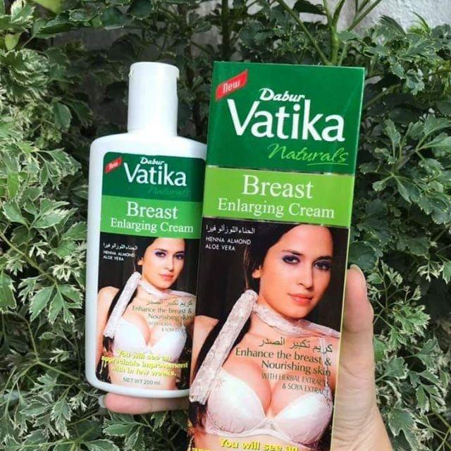 Kem massager nở ngực, săn chắc Vatika Dabur Naturals Pháp 200ml