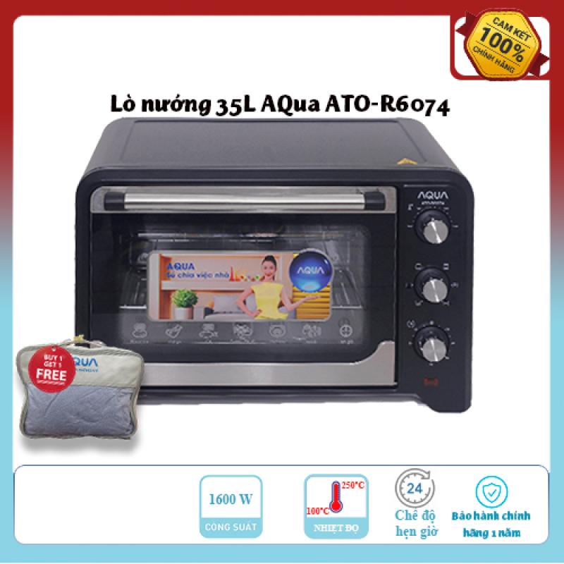 Bảng giá Lò nướng Aqua ATO-R6074 35 lít Lò nướng 5 chế độ nướng tiện lợi Công suất nướng 1600W Thiết kế đơn giản, dễ sử dụng, hàng chính hãng chất lượng cao. Điện máy Pico