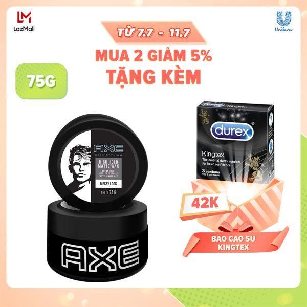 Sáp vuốt tóc Axe Wax (75g)