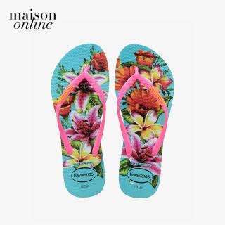 HAVAIANAS - Dép nữ Slim Floral 4129848-0031 thumbnail