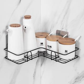 Kệ góc nhà tắm, nhà bếp dán tường chịu lực bằng sắt sơn chống gỉ siêu bên và chắc chắn thumbnail