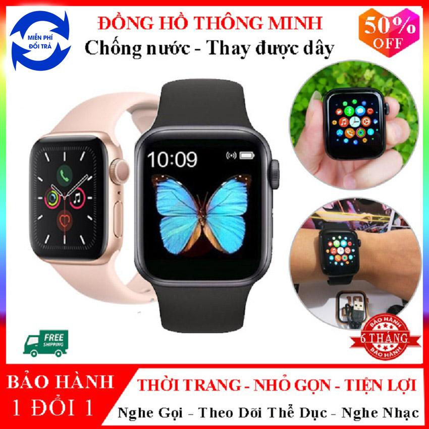 Đồng Hồ Thông Minh ⌚ SmartWatch Series 4 T500 V3 Cao Cấp , Nghe Gọi , Nhận thông báo mạng xã hội - Bảo hành 6 tháng