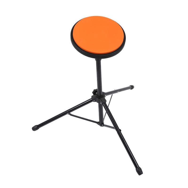 8 Inch Rubber Wooden Dumb Drum Practice Training Drum Pad with Bag Stand Percussion Instruments Parts
