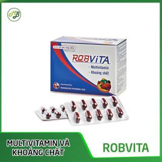 TPCN bổ sung multivitamin và khoáng chất bồi bổ sức khỏe ROBVITA - Medi&Beauty - Robinson Pharma Usa-Hộp 50 viên thumbnail